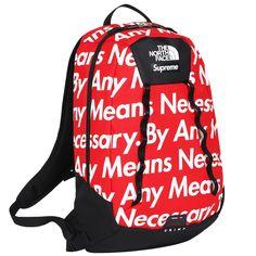 63c9d635e25389 Supreme North Face backpack (RED) Supreme Bag