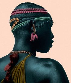 Shilluk woman, Sudan. Original photo by by Eliot Elisofon for Time Life, color enhancer unknown (via http://ruradelia.tumblr.com/post/737032965/shilluk-woman-sudan)