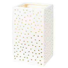 ceramic wall light.