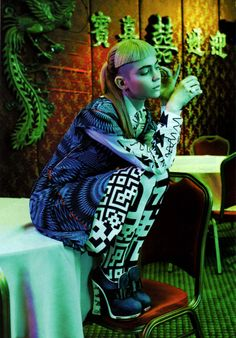 Grimes by Laurie Bartley for Vogue US