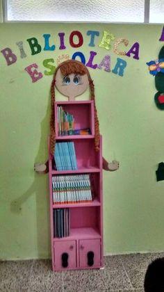 TIPS DE ACTIVIDADES PARA TU GRUPO ESCOLAR: Mueble de biblioteca de aula