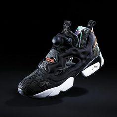 ATMOS × REEBOK INSTA PUMP FURY SNAKE CAMOUFLAGE #sneaker