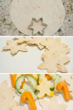 Quelques idées festives pour les lunchs sous le thème de Noel
