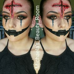 Fantasy makeup!! Sfx Halloween done by me!!!  Only @ Michaela's beauty room xx