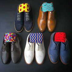 Sock game to go with your shoes.