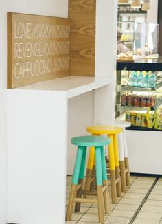 Love Revenge Cappuccino by Nic Tamlin Design, Cape Town – South Africa » Retail Design Blog