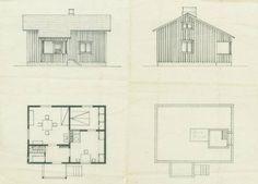 Finnish 50's house plan