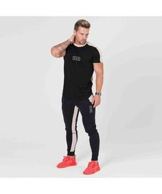 304 Clothing RJ T-Shirt Black-304 Clothing-Gym Wear