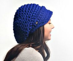 Hey, I found this really awesome Etsy listing at https://www.etsy.com/listing/150631475/crocheted-hat-womens-hat-crochet-newsboy