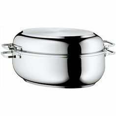 Cookware 20628: Wmf Stainless Steel Deep Oval Roasting Pan, 16-1 4-Inch, New, Free Shipping -> BUY IT NOW ONLY: $114.17 on eBay!
