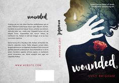 Wounded - Fantasy / Mystery Book Cover For Sale at Beetiful Book Covers
