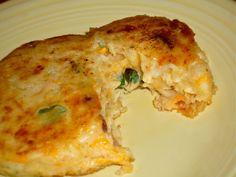 Bacon-Cheese Mashed Potato Cakes