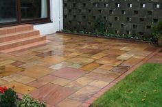 Natural sandstone paving in southside glasgow nk landscaping Natural sandstone paving in southside glasgow nk landscaping