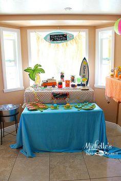Hello Summer Surf Party via Kara's Party Ideas | KarasPartyIdeas.com #hello #summer #surf #beach #party #ideas (6)