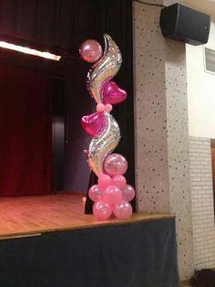 Columns balloon decoration