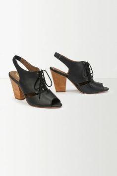 Peekaboo Cutout Heels