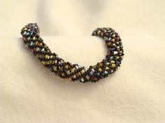 Ronde spirol armband bracelet door CPaccessoires op Etsy