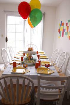 Lego Birthday Party - delia creates