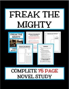 freak the mighty book vs movie essay Freak the mighty was just a really good book it is sad what happens at the end, but the entire story line between the two main characters freak, and mighty was just complexing both are attracted to each other because one is big without so much of a mind, the other is small but with a large mind.
