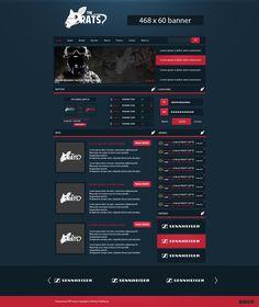 eSport webdesign