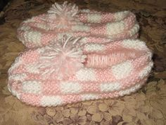 Ravelry: Checkerboard Slippers pattern by Denise Levs                                                                                                                                                                                 More