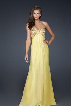 A-Line Sweetheart Sheath/Column Chiffon Prom Dresses