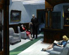 Edward Hopper: Hotel Lobby (1943)