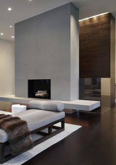 Interior view of the New Canaan Residence by Specht Harpman _