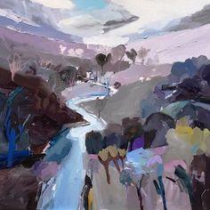 """Remnants of Daylight"" by Richard Claremont #emergingartist #paintingoftheday #interiordecor"