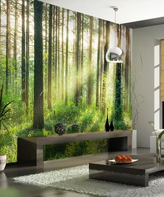 Another great find on #zulily! Sunset in the Woods Wall Mural #zulilyfinds