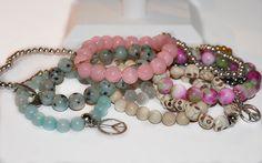 pastels bracelets