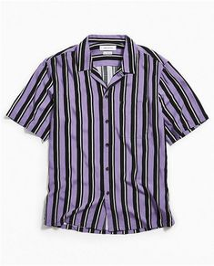 f831fb5cd Mens Striped Shirt // Urban Outfitters. Button Down Shirt, Button Downs,  Polo