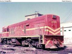 LOCOMOTIVAS - A era das Diesel na EFL e RFFSA. :: O Trem Expresso