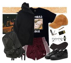 """parallel"" by paper-freckles ❤ liked on Polyvore featuring KEEP ME, Steve Madden, adidas, Acne Studios, Maria La Rosa, Retrò, TUDOR and Ann Demeulemeester"