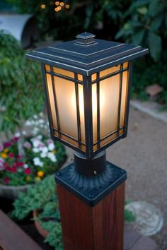 Home Decorators Collection, Port Oxford Outdoor Oil Rubbed Chestnut Post Mount Lantern, 23116 at The Home Depot - Mobile Driveway Lighting, Patio Lighting, Exterior Lighting, Outdoor Lamp Posts, Outdoor Post Lights, Driveway Entrance Landscaping, Backyard Landscaping, Lamp Design, Lighting Design
