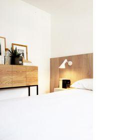 Diseño y reforma de apartamento. Madrid. Iglesias-Hamelin arquitectos c.b. Dormitorio.