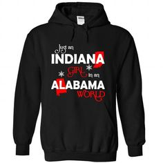 INDIANA-ALABAMA Girl 06Red - #gifts #small gift. BUY IT => https://www.sunfrog.com/States/INDIANA-2DALABAMA-Girl-06Red-Black-Hoodie.html?68278