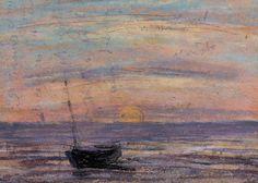 Fishing Boat - Eugene Boudin