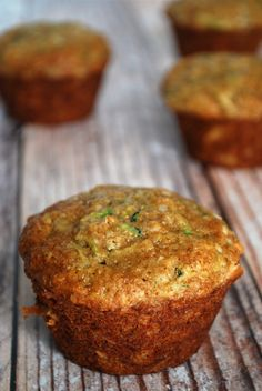 Coconut Spice Zucchini Muffins - The Make Ahead Kitchen Cookbook