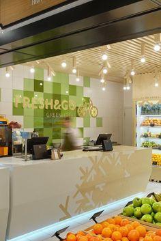 FRESH & GO Grocery Store GREEN IDEAS, Kiev / Ukraine