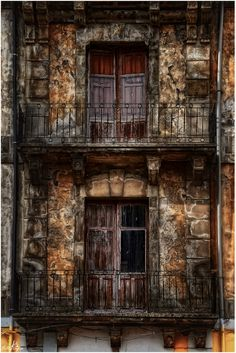 Windows and Balconies IV (Series) by Manuel Lancha, via 500px