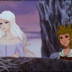 """The Last Unicorn--""""Molly, who am I? Why am I here? What is it that I am seeking in this strange place...day after day..?""""-Lady Amalthea"""