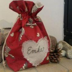 mikulášske - vianočné vrecko s menom na želanie Ale, Christmas Ornaments, Holiday Decor, Home Decor, Xmas Ornaments, Beer, Decoration Home, Ale Beer, Christmas Jewelry