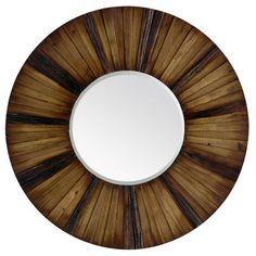Wooden Eternal Mirror