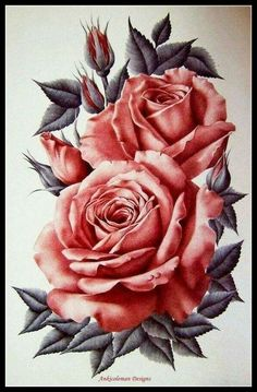 Red Rose - Chart DIY Counted Cross Stitch Patterns Needlework embroidery  #AnkicolemanDesigns #Flowers Dessin Tattoo, Tattoo Drawings, Rose Drawing Tattoo, Tattoo Sketches, Body Art Tattoos, Rose Tattoo Thigh, Flower Tattoo Designs, Flower Tattoos, Tattoo Stencils