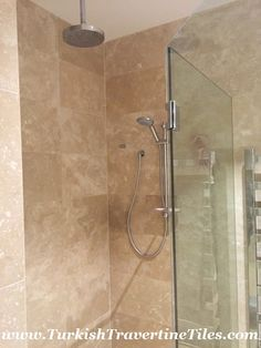 Photo Of Filled Travertine Tiles Travertine bathroom
