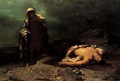 Antigone par Nikiforos Lytras (1865) Les carnets d'Eimelle littérature théâtre voyage: Antigone théâtre et peinture 1