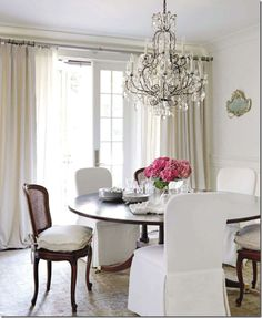 elegant dining room in house beautiful