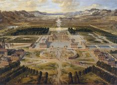 Chateau de Versailles 1668 Pierre Patel - History of the Palace of Versailles - Wikipedia, the free encyclopedia
