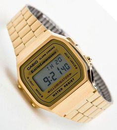 Casio Gold Vintage http://neonwatch.tumblr.com/post/101744918811/great-deal-on-the-vaporware-golden-casio-at